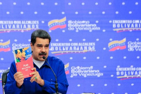 AME2947. CARACAS (VENEZUELA), 17/01/2020.- Fotografía cedida por...