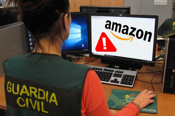 La Guardia Civil alerta de una estafa que busca robarte la cuenta de Amazon