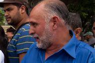 El diputado Ismael León, en Caracas.