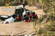 La Guardia Civil ha recuperado este martes el vehículo en la partida Alcolecha