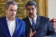 Zapatero lidera la ofensiva diplomática de Maduro