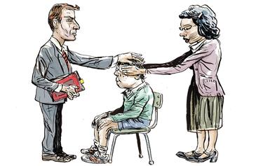 Si los hijos no son de los padres, ¿de quién son realmente?