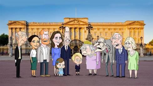 La familia real británica tendrá una serie de los creadores de 'Padre de familia'