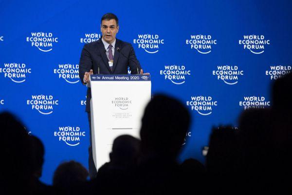 Davos (Switzerland).- <HIT>Pedro</HIT> <HIT>Sanchez</HIT>, prime...