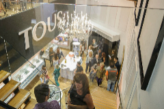Inauguración de una tienda Tous en País Vasco.