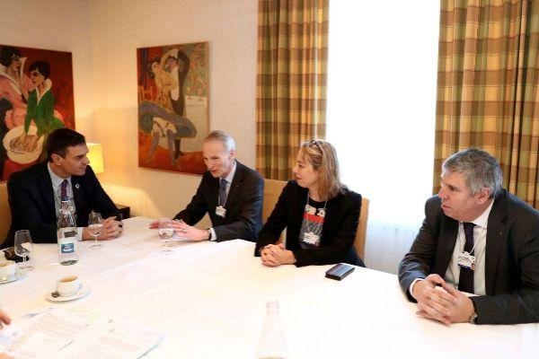 GRAF6219. <HIT>DAVOS</HIT>.- Fotografía facilitada por Presidencia...