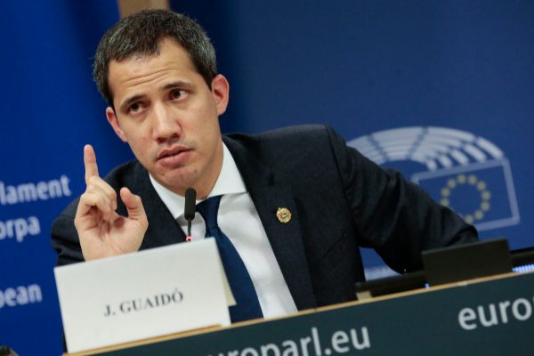 Brussels (Belgium).- <HIT>Juan</HIT> <HIT>Guaido</HIT>, President of...