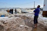 Muere un hombre tras quedar atrapado en un invernadero durante una tormenta de granizo en Níjar (Almería)