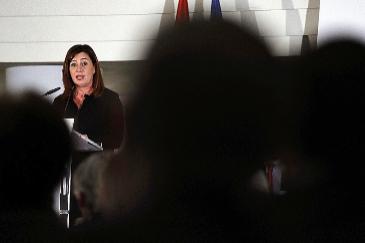 La presidenta del Govern, Francina Armengol, en Fitur.
