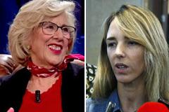 La 'mala leche' de Carmena con Cayetana Álvarez de Toledo