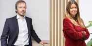 Santiago Ínsula, director de Recursos Humanos de Zurich España, y Silvia Heras, directora de Marketing y Diversidad de Zurich Seguros.