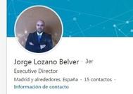 Perfil de la red social Linked In de Jorge Lozano Belver, detenido por la Policía tras dos años oculto de las autoridades.