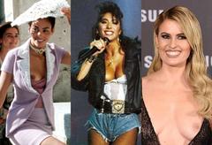 Celia Freijeiro y otras famosas en 'topless' involuntario