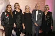 La familia Tous, en un evento de la firma hace varios años en Madrid.