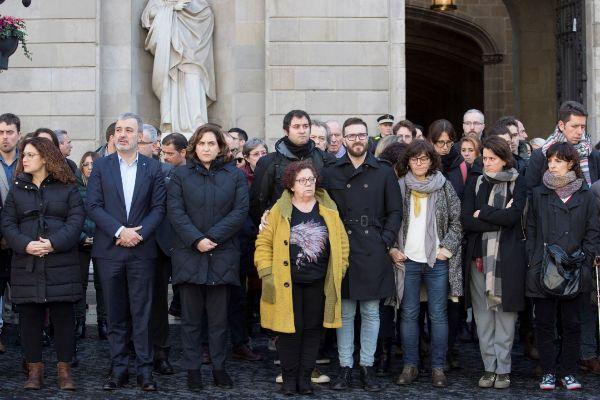 GRAFCAT159 BARCELONA 23/1/2020.- Los trabajadores del Ayuntamiento de...