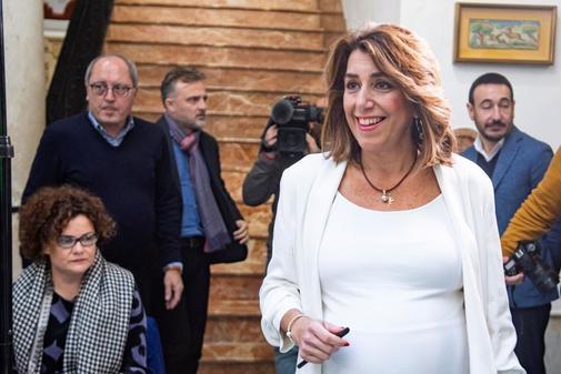 Susana Díaz trata de taponar la vía de agua en el PSOE andaluz tras la crisis interna en Sevilla