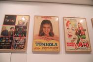 Varios de los carteles incluidos en la muestra organizada por el Archivo Municipal de Málaga.