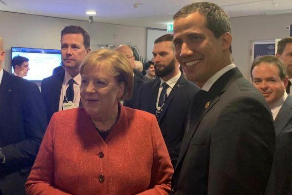 Juan Guaidó amarra el apoyo de Angela Merkel y Emmanuel Macron