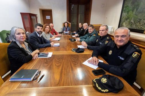 Reunión del grupo de coordinación para atender el caso de los abusos...