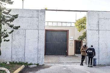 Entrada principal del centro de reinserción juvenil de Es Pinaret.