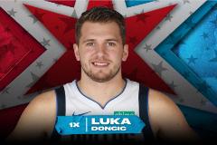 Doncic será titular en su primer All Star: el europeo más joven en disputarlo y el segundo más votado tras LeBron