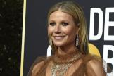 Gwyneth Paltrow en la alfombra roja de los Globos de Oro.