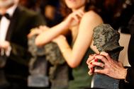 Estatuilla de los Premios Goya