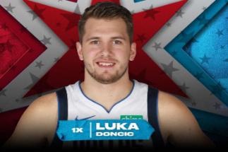Doncic, el europeo más joven en un All Star, será titular