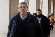 Juan Cano la semana pasada en la Audiencia de Alicante.