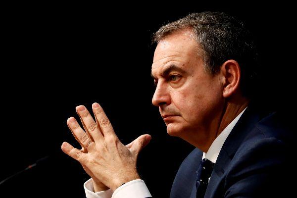 El ex presidente del Gobierno José Luis Rodríguez Zapatero.