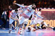 Zeljko Musa celebra su gol, este viernes.