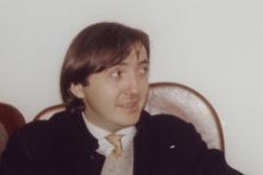 Federico Jiménez Losantos, durante sus años en Barcelona.