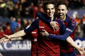 Triunfo vital de Osasuna, que tiembla con la lesión de 'Chimy' Ávila