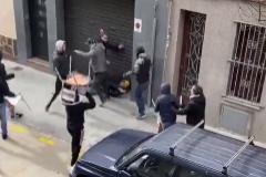 Imagen de los incidentes en Cornellà.