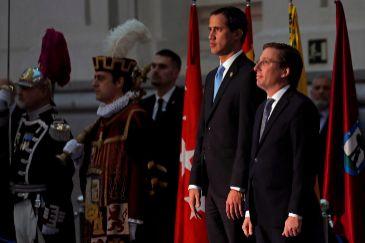 """Juan Guaidó: """"Estar hoy aquí representa que los valores fundamentales en Venezuela resisten"""""""