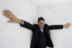 El escritor turinés Claudio Magris, durante una visita a Barcelona.