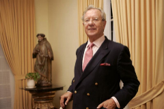 Raúl Morodo (Ferrol, 1935), en su despedida de Caracas. Fue embajador allí desde 2004 hasta 2007.