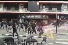 Graves incidentes entre ultras entre los Yomus y <HIT>Boixos</HIT> en Valencia