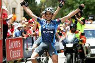 Alberto Contador ganó en Willunga hace 15 años.