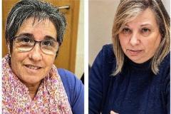 Teresa Botequilha y Ángeles Gómez.