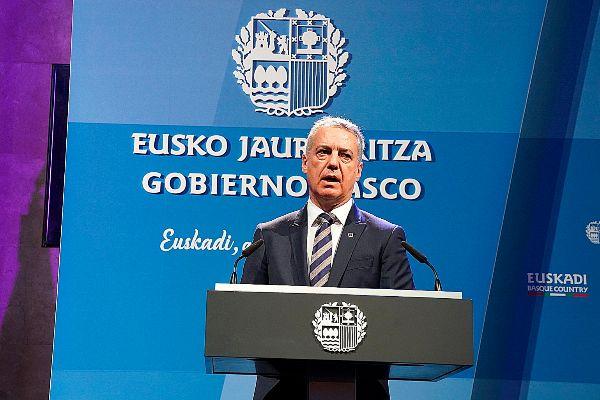 El 'lehendakari' vasco Iñigo Urkullu.