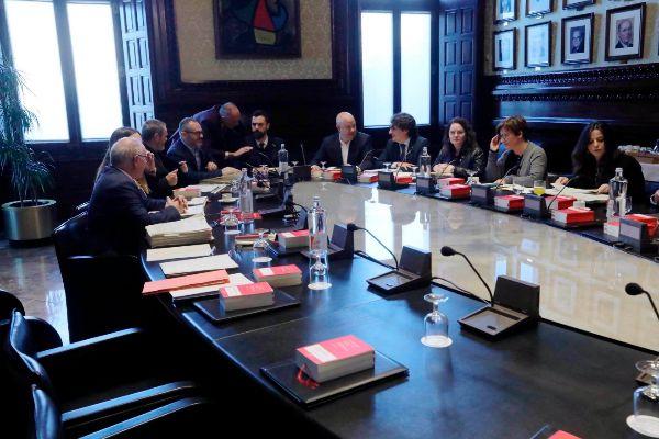Antonio Moreno 14.01.2020 Barcelona Cataluña. El presidente del...