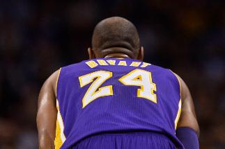 Kobe Bryant en su última temporada en activo.