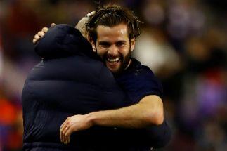 Un gol de Nacho hace feliz a un sólido líder
