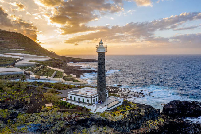 El lujoso faro de La Palma en el que podrán dormir Brad Pitt o Renée Zellweger como premio de los Oscar