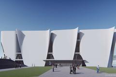 El Museo del Hermitage de Barcelona, ahora cancelado, iba a ser diseñado por Toyo Ito.