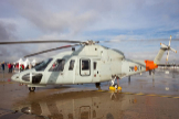 El modelo Sikorsky 76 del Ejército del Aire.