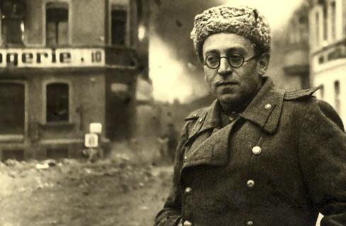 Vasili Grossman, en las calles de Stalingrado.