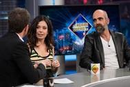 Anna Castillo y Luis Tosar presentan Adú en El Hormiguero.