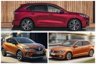 Los 'españoles' Ford Kuga, Volkswagen Polo y Renault Captur, entre los 10 coches más vendidos en Europa